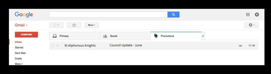 Council Gmail 1